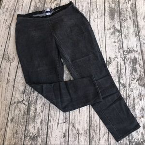 💎 Jessica London Faded Black Jeans Plus SZ 22